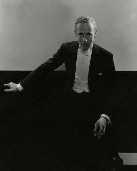 Glamour Photograph - Portrait Of Leslie Howard by Edward Steichen