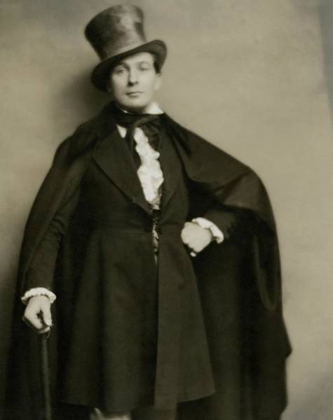 Male Portrait Photograph - Portrait Of Lionel Atwill In Costume by Nicholas Muray