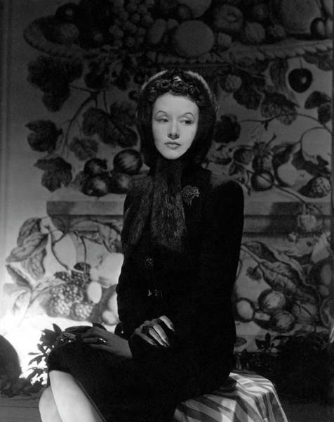 1942 Photograph - Portrait Of Millicent Rogers by Horst P. Horst