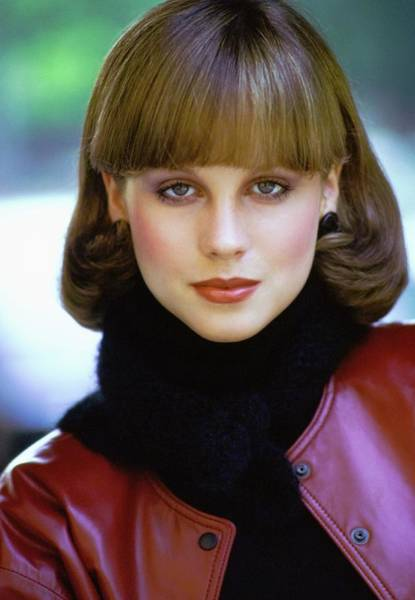 Photograph - Portrait Of Model Rosie Vela by Arthur Elgort