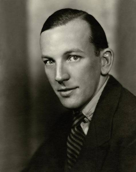 Celebrities Photograph - Portrait Of Noel Coward by Nickolas Muray