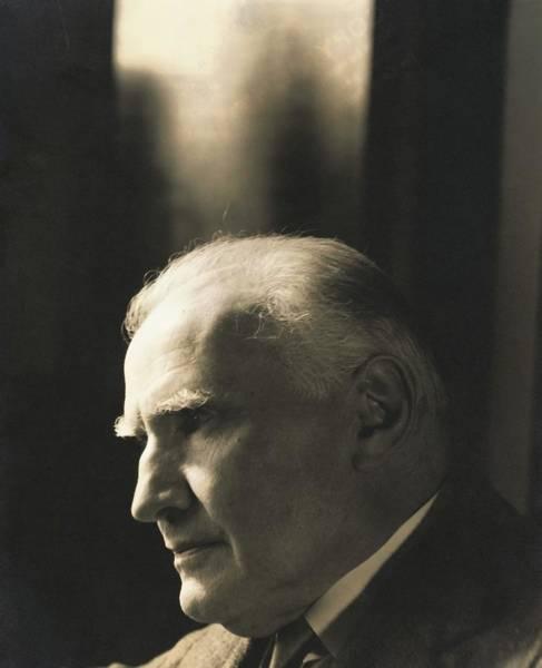 Wall Art - Photograph - Portrait Of Walter Damrosch by Edward Steichen