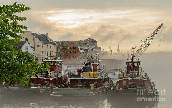 Photograph - Portsmouth Tugboats by Sharon Seaward