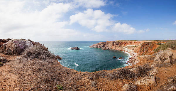 Sagre Wall Art - Photograph - Portugal, View Of Coastline by Westend61