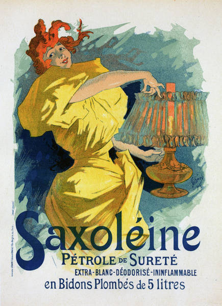 Wall Art - Painting - Poster For Saxoléine. Chéret, Jules 1836-1932 by Liszt Collection