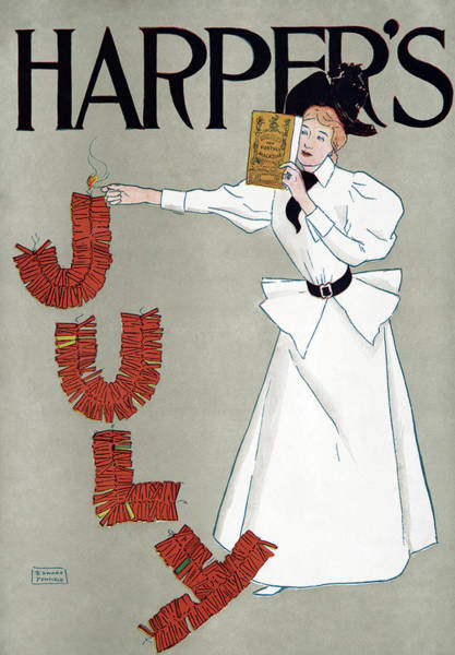 Wall Art - Painting - Poster Harper's, 1894 by Granger