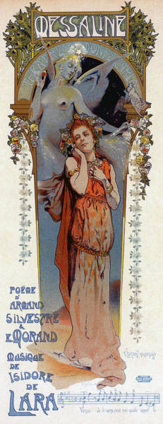 Wall Art - Drawing - Poster Opera, 1898 by Granger