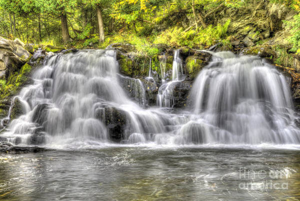 Upper Peninsula Wall Art - Photograph - Powerhouse Falls by Twenty Two North Photography