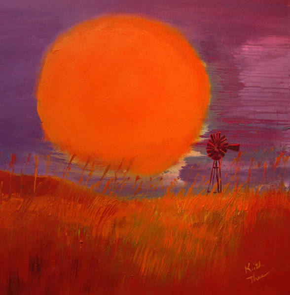 Painting - Prairie Winds by Keith Thue