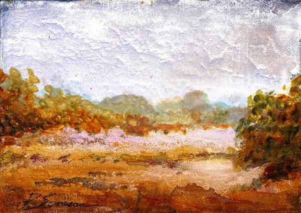 Painting - Prarie Mist by Peter Senesac