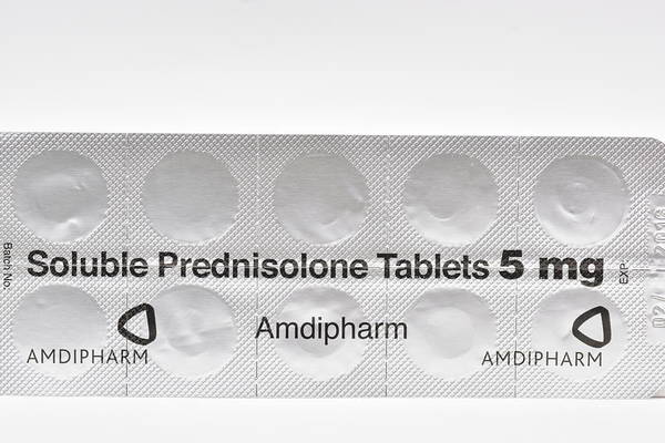 Package Wall Art - Photograph - Prednisolone Steroid Tablets by Dr P. Marazzi/science Photo Library