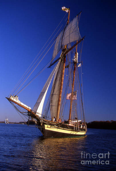 Sailing Terms Photograph - Pride Of Baltimore II by Skip Willits