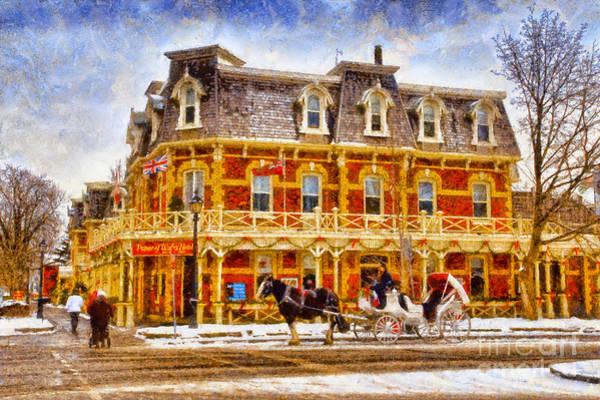Photograph - Prince Of Wales Hotel Niagara On The Lake by Les Palenik