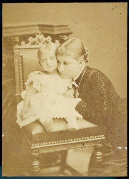 Wall Art - Photograph - Princess Charlotte Of Prussia Duchess by Mary Evans Picture Library