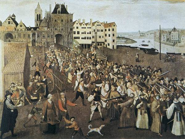 Militiaman Photograph - Procession Of The Holy League Leaving by Everett