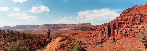 Fisher Towers Photograph - Professor Valley, Fisher Towers, Moab by Fotomonkee