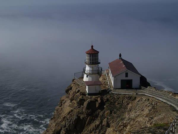Wall Art - Photograph - Pt Reyes Lighthouse by Bill Gallagher