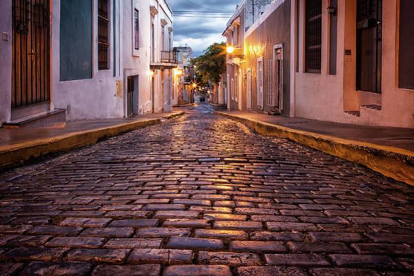 Old Photograph - Puerto Rico, San Juan, Old San Juan by Bryan Mullennix