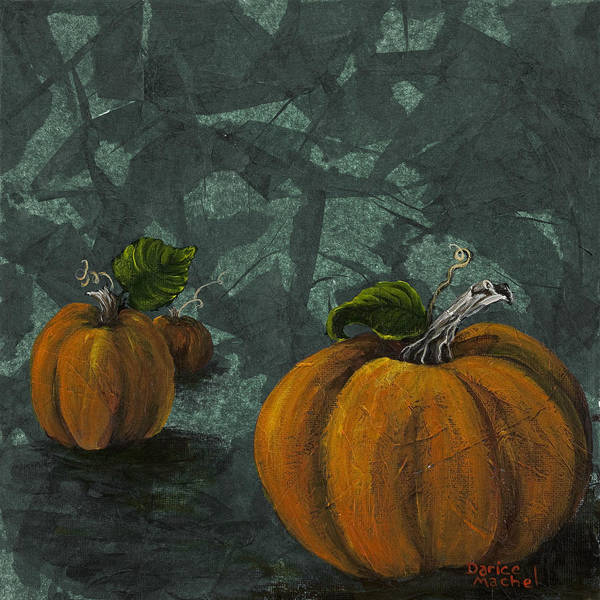 Painting - Pumpkin Patch by Darice Machel McGuire