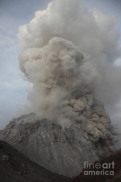 Photograph - Pyroclastic Flow Descending Flank by Richard Roscoe