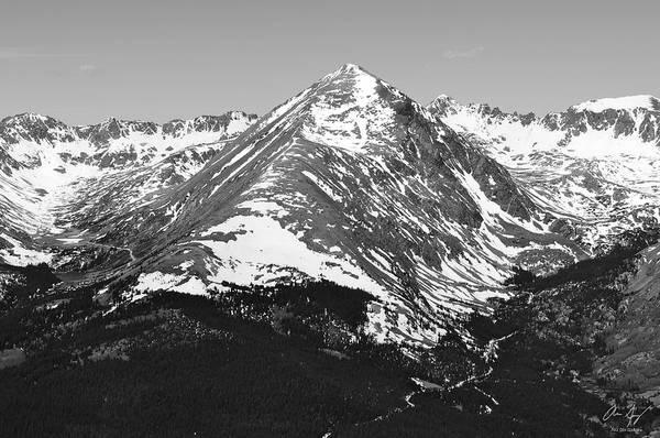 Fourteener Photograph - Quandary Peak by Aaron Spong