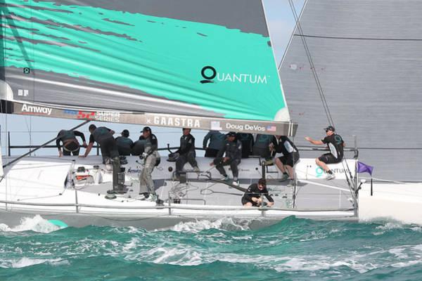 Racing Yacht Photograph - Quantum Racing by Steven Lapkin