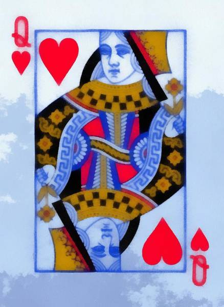 Riverboat Painting - Queen Of Hearts by Dan Sproul