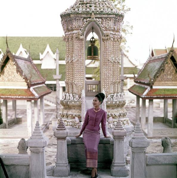 Residence Photograph - Queen Sirikit At The Grand Palace by Henry Clarke