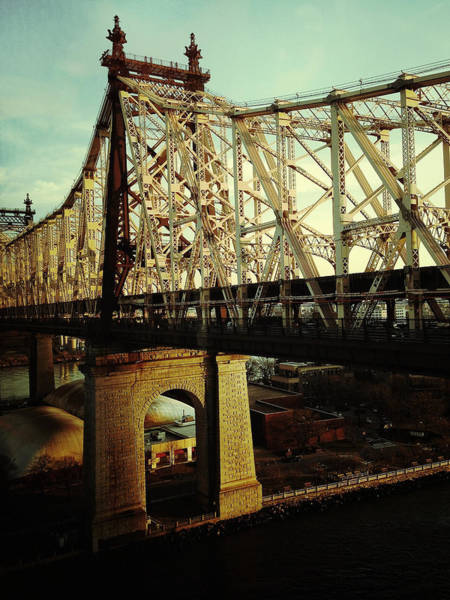New York City Wall Art - Photograph - Queensboro Bridge by Natasha Marco