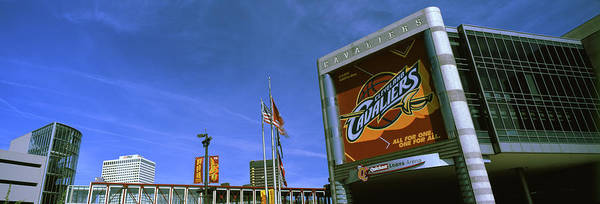 Cleveland Scene Photograph - Quicken Loans Arena In Cleveland, Ohio by Panoramic Images