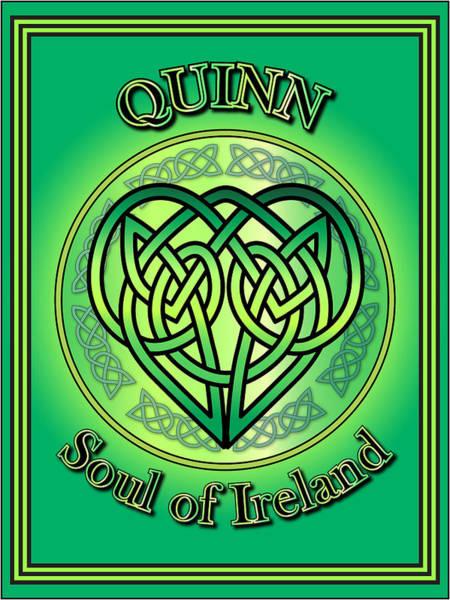 Wall Art - Digital Art - Quinn Soul Of Ireland by Ireland Calling