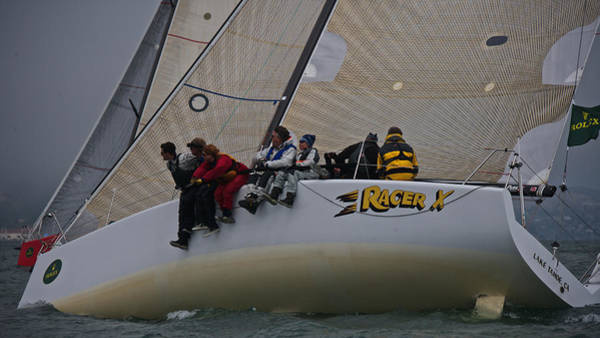 Photograph - Racer X Upwind by Steven Lapkin