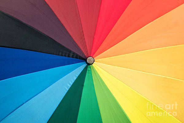 Wall Art - Photograph - Rainbow by Delphimages Photo Creations