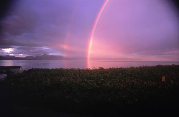 Gulf Of Alaska Photograph - Rainbow by Greg Ochocki