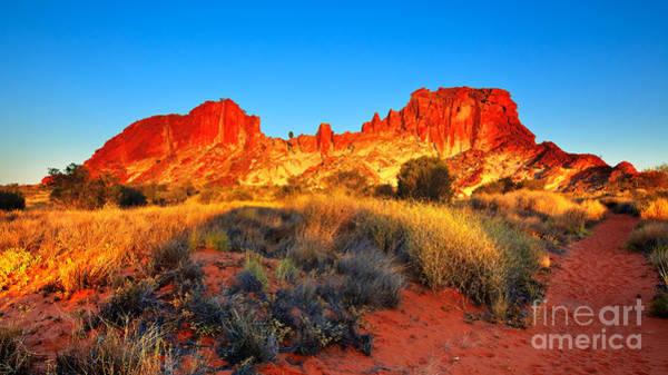 Central Australia Photograph - Rainbow Valley by Bill  Robinson