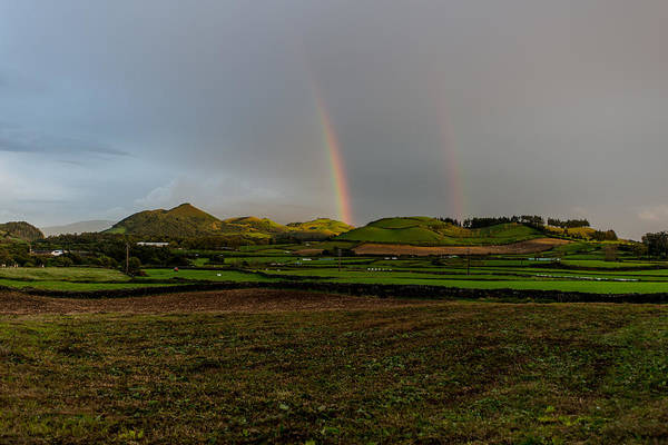 Photograph - Rainbows Over The Mountain by Joseph Amaral