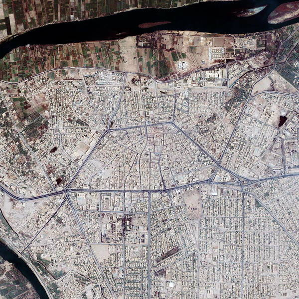 Iraqi Photograph - Ramadi by Geoeye/science Photo Library