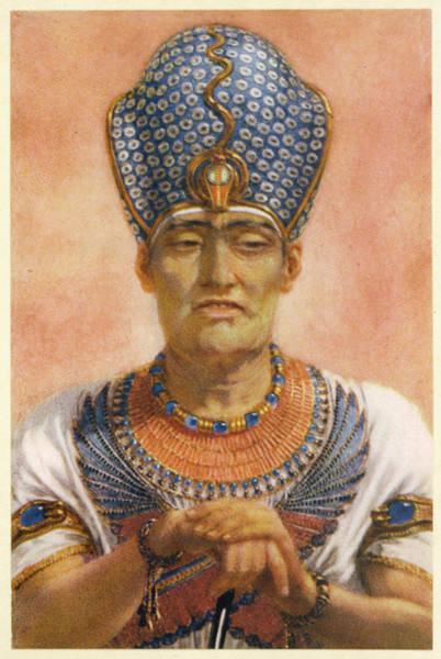Wall Art - Drawing - Rameses IIi, Pharaoh (19th Dynasty) by Mary Evans Picture Library