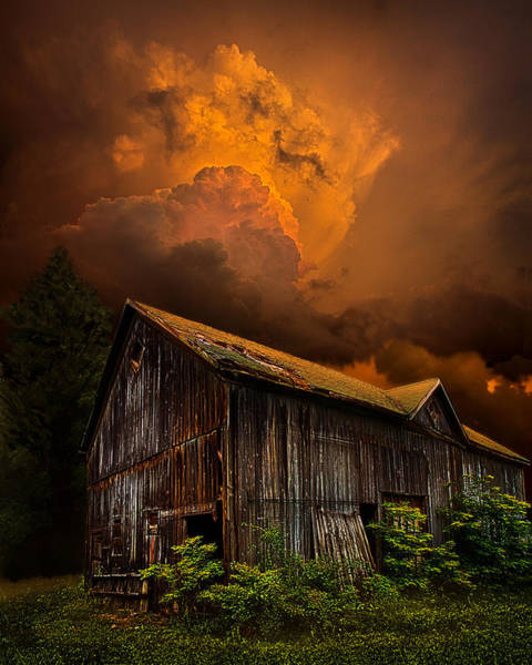 Barn Storm Wall Art - Photograph - Recluse by Phil Koch