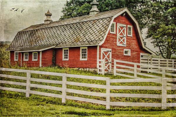 Red Barn Art Print