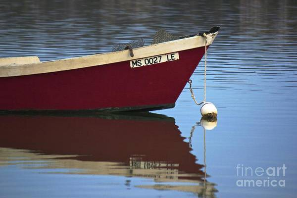 Photograph - Red Boat by Amazing Jules