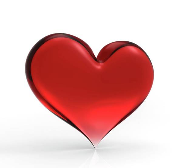 Wall Art - Photograph - Red Heart by Wladimir Bulgar/science Photo Library