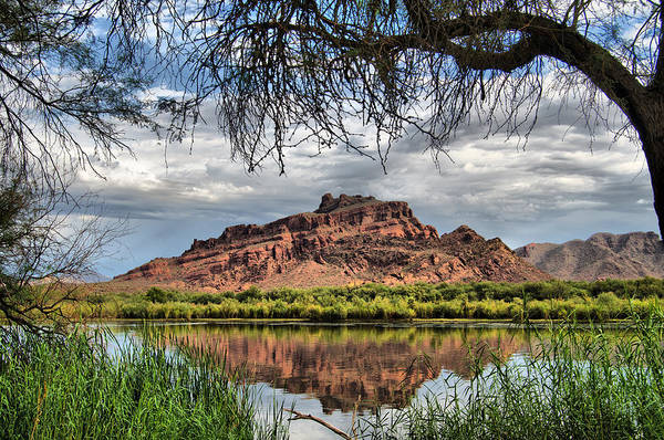 Photograph - Red Mountain Reflection by Tam Ryan