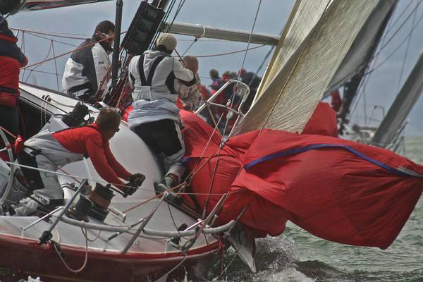 Photograph - Red Sails by Steven Lapkin