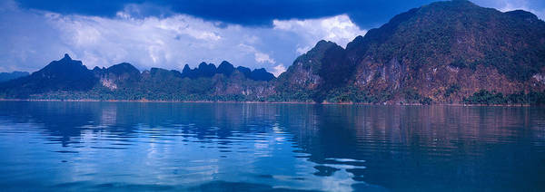 Reflection Of Mountain On Water, Chiaw Art Print