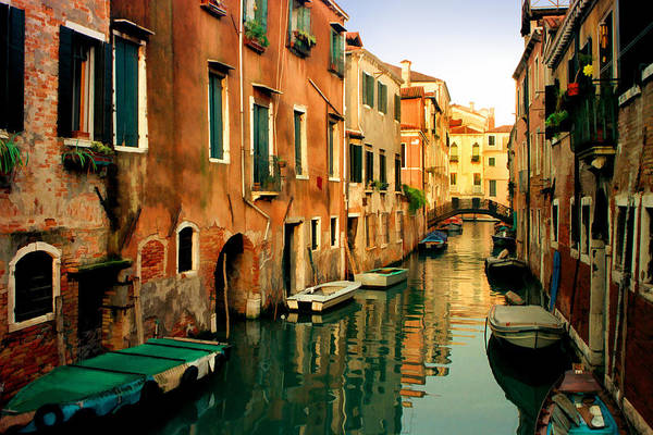 Photograph - Reflections Of Venice by Cliff Wassmann