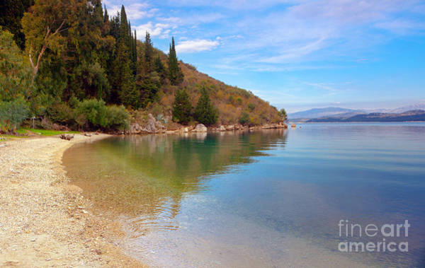 Photograph - Reflections On Corfu by Paul Cowan
