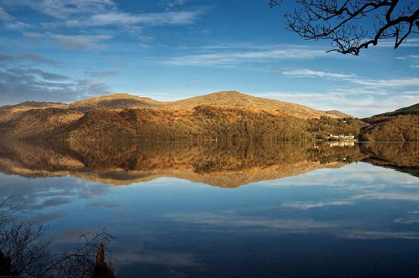 Photograph - Reflections On Loch Lomond by Stephen Taylor