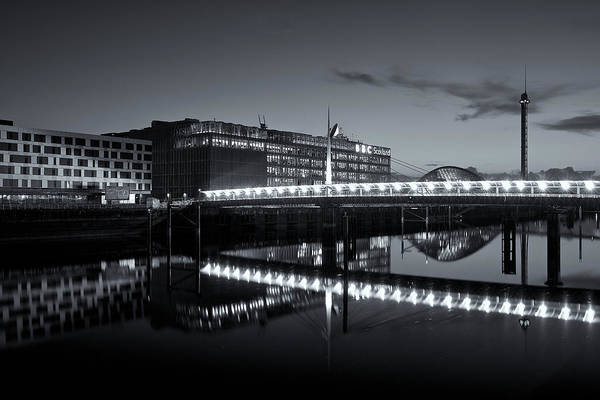 Photograph - Reflections On The Clyde by Stephen Taylor