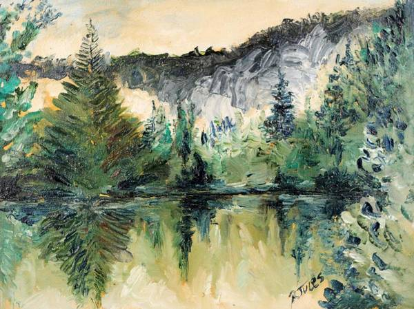 Painting - Reflections by Richard Jules